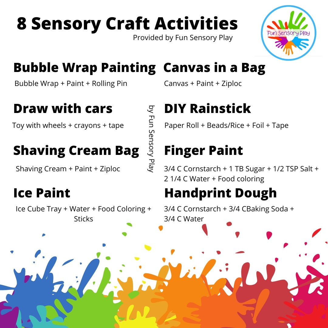 Sensory Crafts Activities