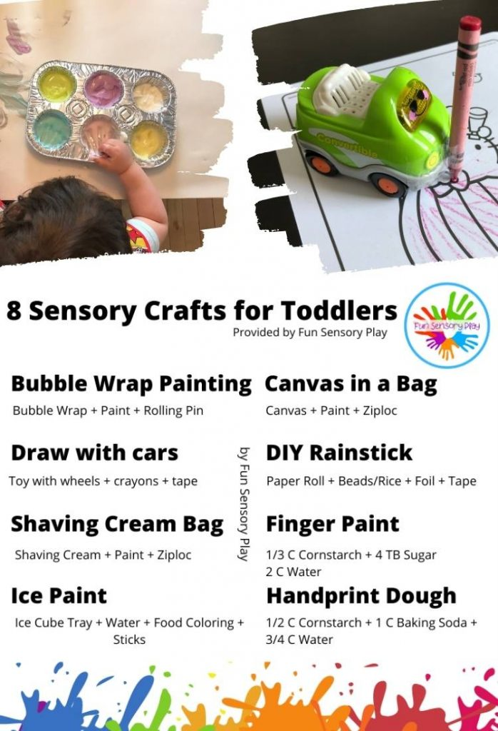Sensory Crafts for Toddlers