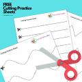 cutting practice pdf 3 year old worksheet