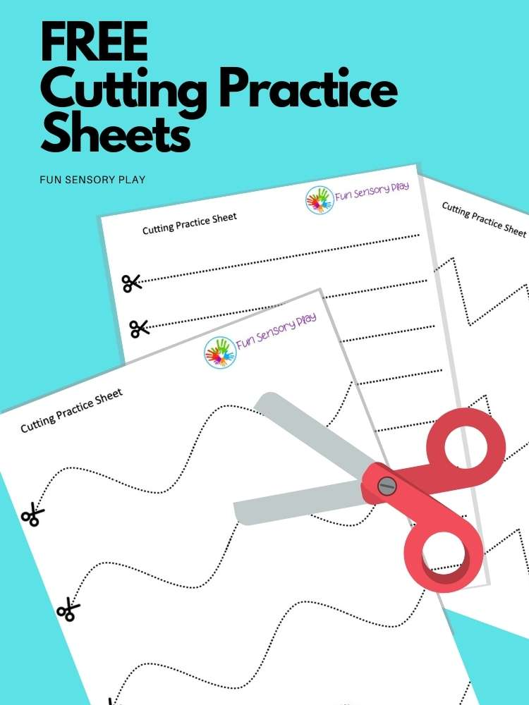 Free cutting worksheets for fine motor skills