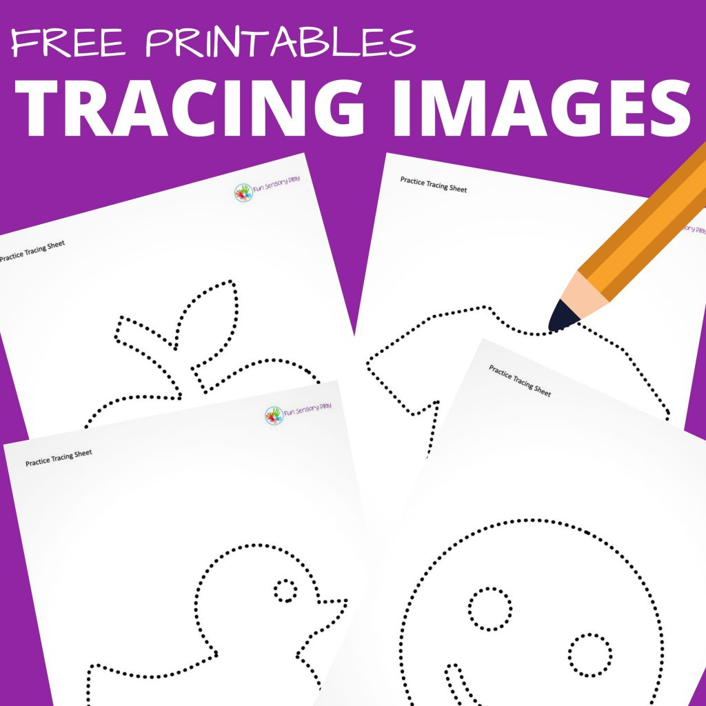tracing images for toddlers preschoolers