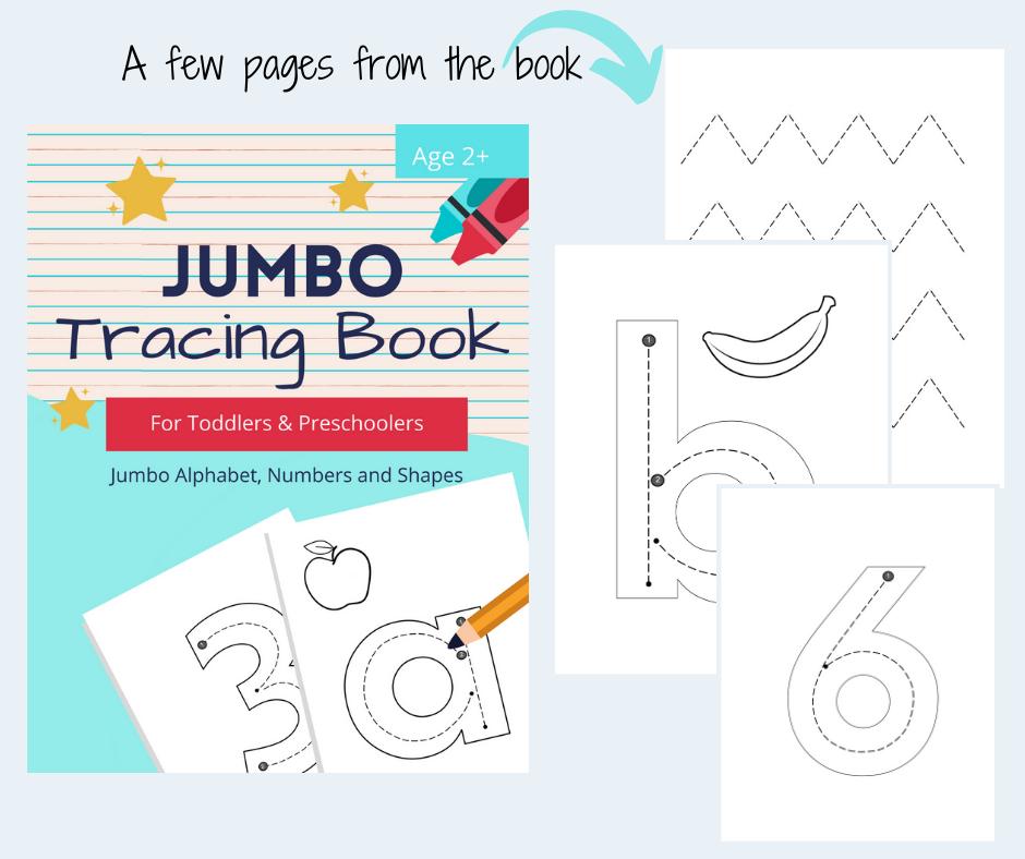toddler preschool tracing book