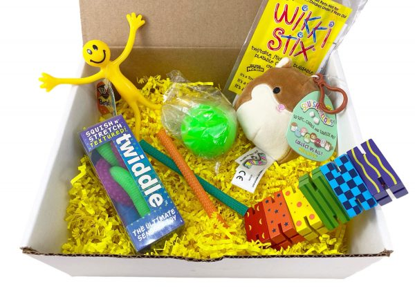 Sensory Toys Box Variation