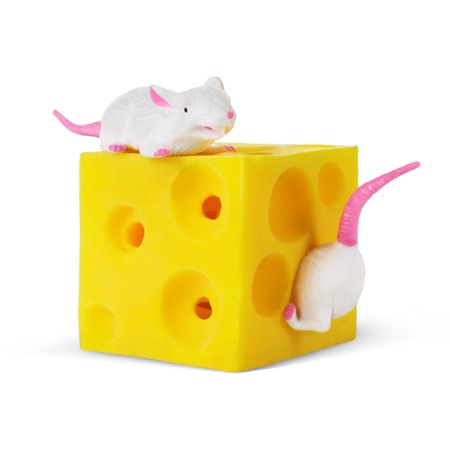 Stretchy Mice and Cheese Playvision Sensory Toy