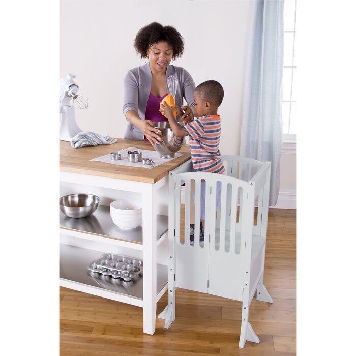 Guidecraft Toddler Tower Kitchen Helper