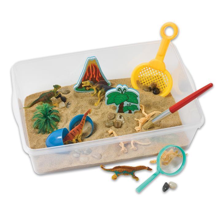 Sensory Bin Dinosaur Dig Creativity for Kids