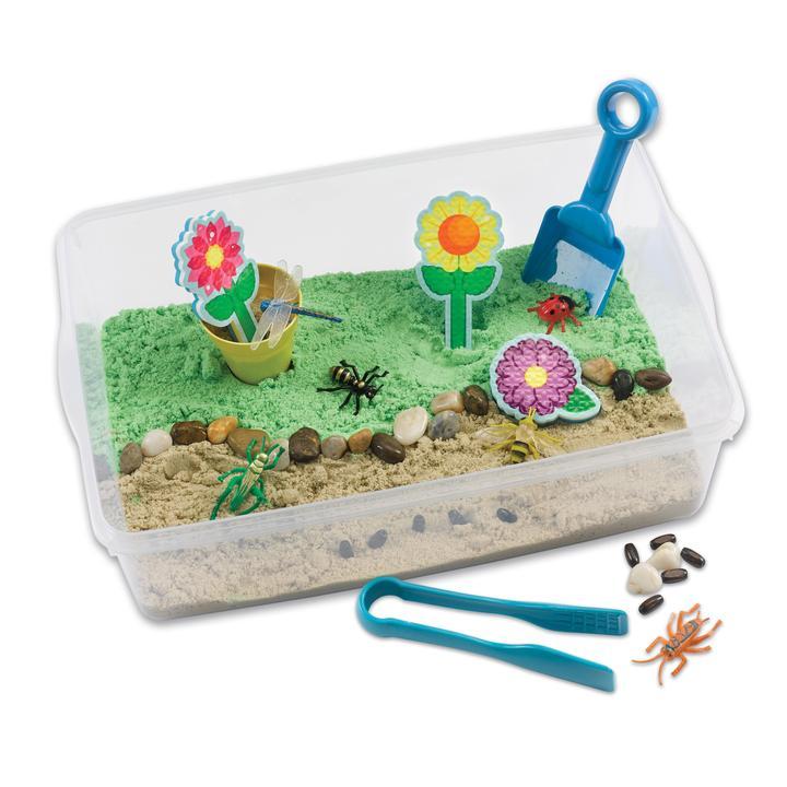 Sensory Bin Garden and Critters Creativity for Kids