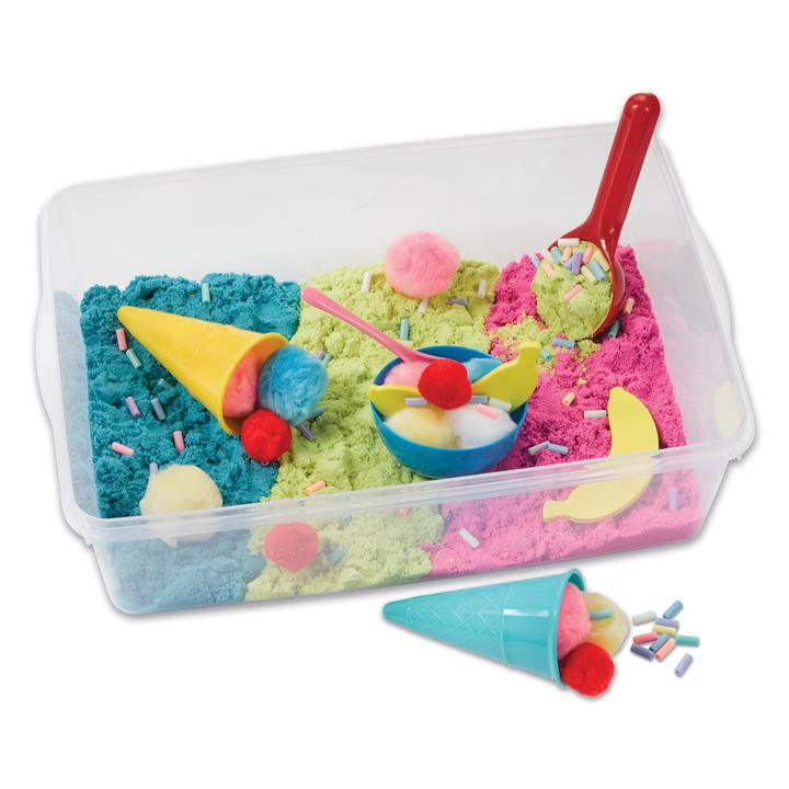 Sensory Bin Ice Cream Creativity for Kids