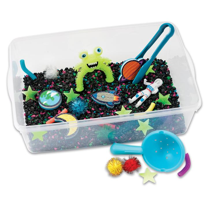 Sensory Bin Outer Space Creativity for Kids