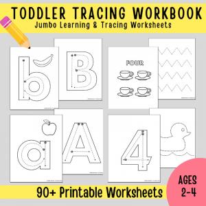 Toddler & Preschooler Tracing Working