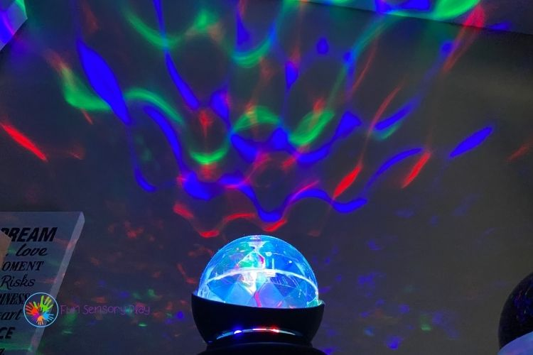 Sensory Light Wave Projection Sensory Room