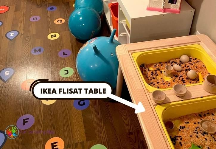 Ikea Flisat Sensory Room