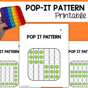 Pop It Learning Activity for the Classroom