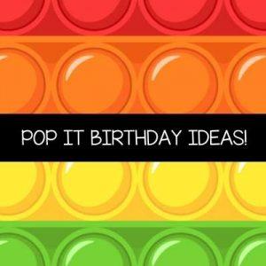 Pop It Birthday